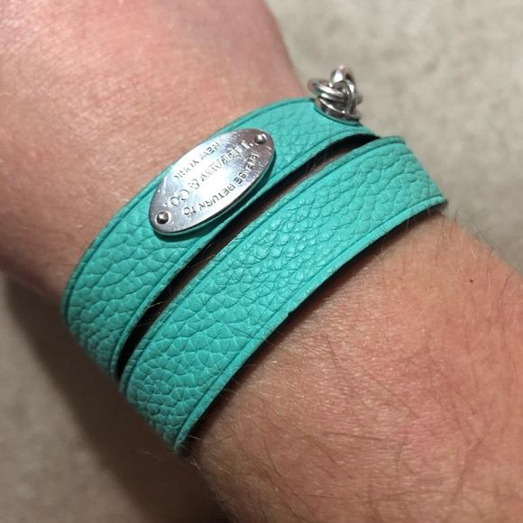 a983e5dcb Tiffany & Co. Jewelry   Tiffanys Leather Wrap Bracelet   Poshmark